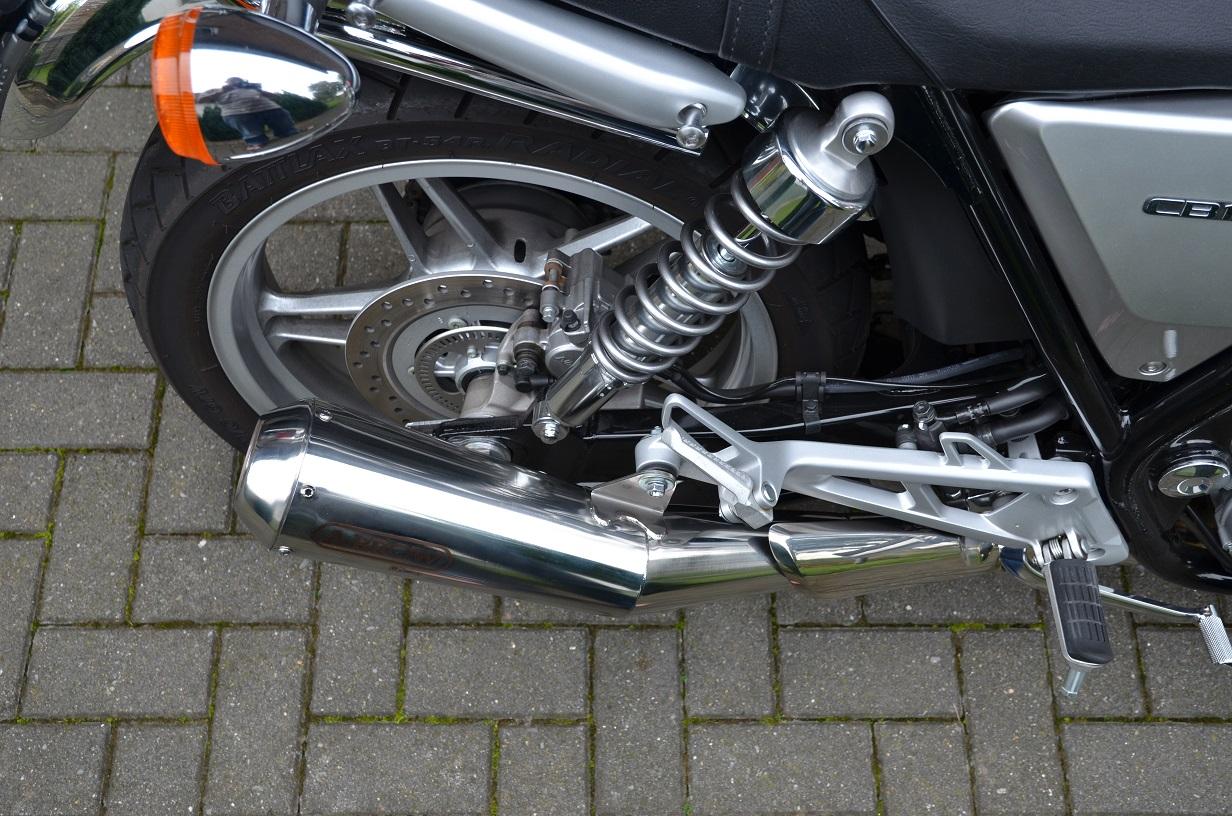 Habe Jetzt Auch Den Arrow Schalldampfer Montiert Technik Honda Cb 1100 Forum